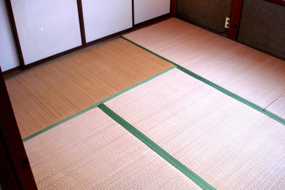 オールアースリフォーム施工後の畳床